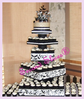 wedding cakes and cupcakes edmonton black silver wedding cupcakes vegan gluten free dairy free 23789