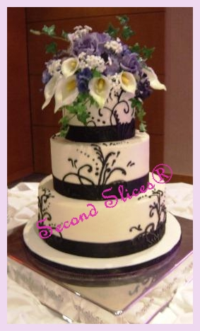 wedding cakes and cupcakes edmonton purple white wedding flowers vegan wedding cakes cupcakes 23789