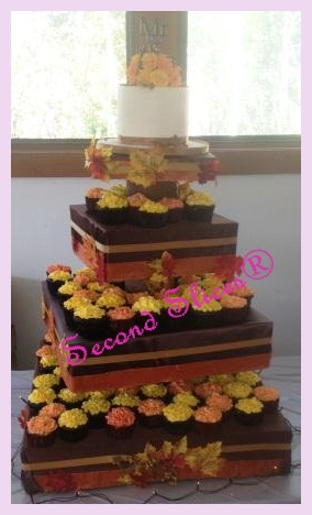 wedding cakes and cupcakes edmonton yellow carnations cupcakes wedding camrose edmonton www 23789